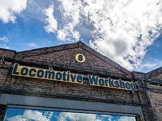 Eveleigh Railway Workshops - Image: Eveleigh Railway Workshops 1