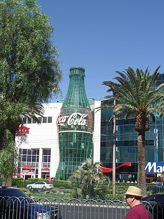 World of Coca-Cola - Everything Coca-Cola Store in Las Vegas Nevada as seen in June 2017
