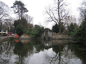 Ewell - The Pond, Bourne Hall, Ewell