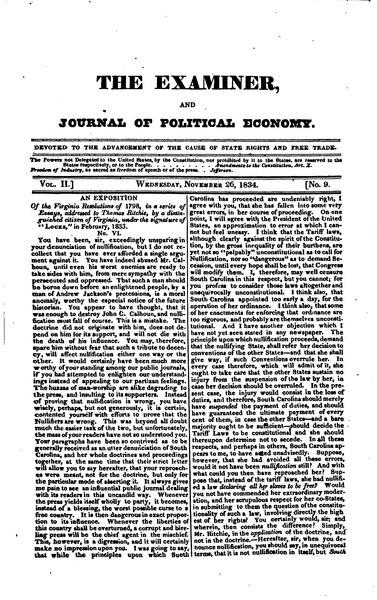 File:Examiner, Journal of Political Economy, v2n09.djvu