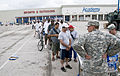 FEMA - 38318 - Residents lined up at a Texas POD (distribution) site at a shopping center.jpg