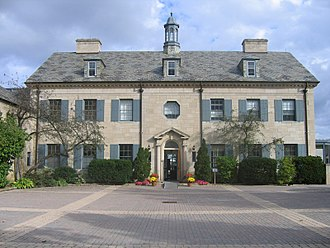 Edward Rogers Wood - The home of Frank P. Wood on Bayview Avenue, north of Glendon Hall