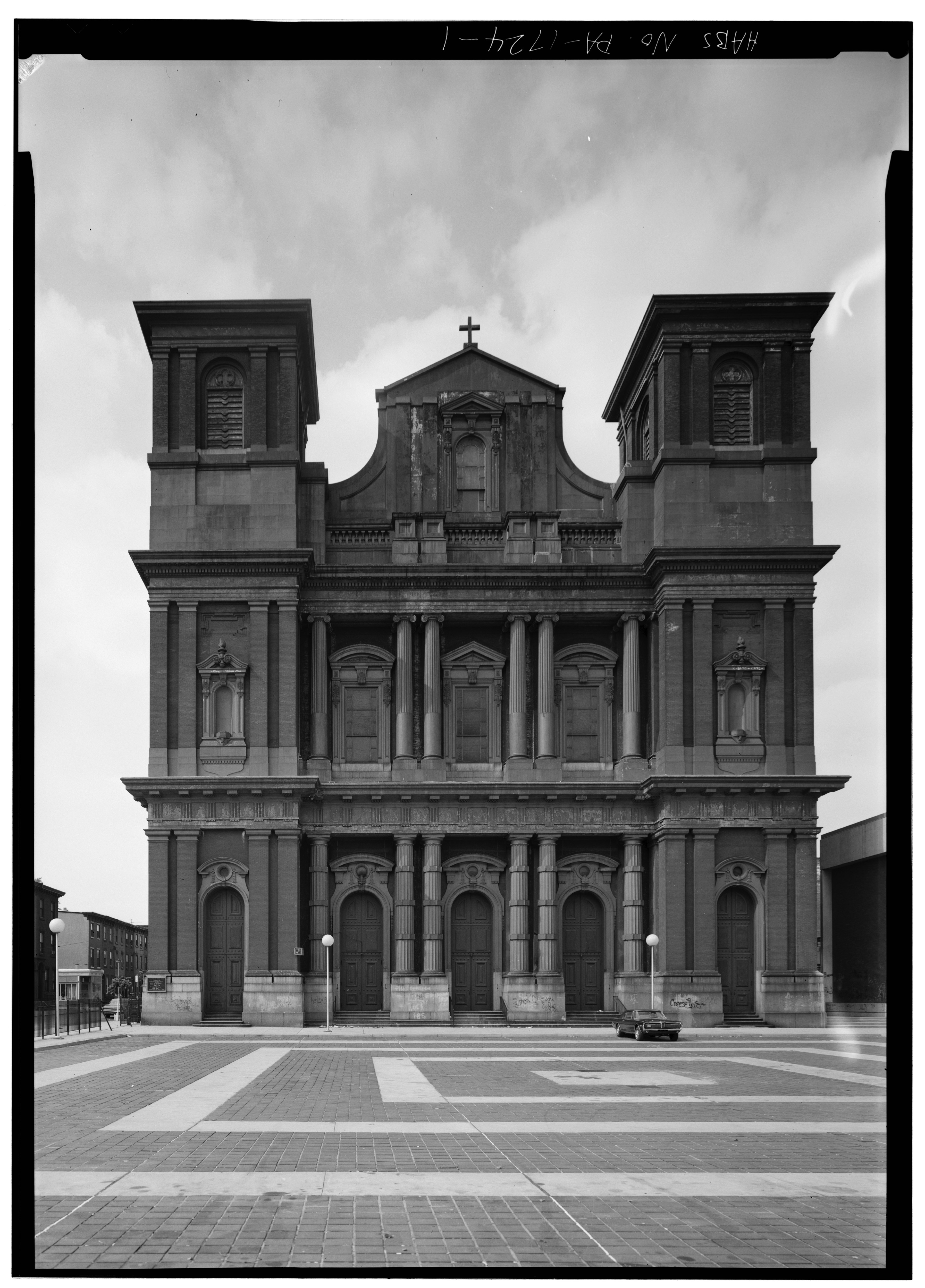 Sample Front Elevation Church : File front elevation church of the gesu roman catholic