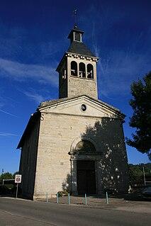 Saint-Savin, Isère Commune in Auvergne-Rhône-Alpes, France