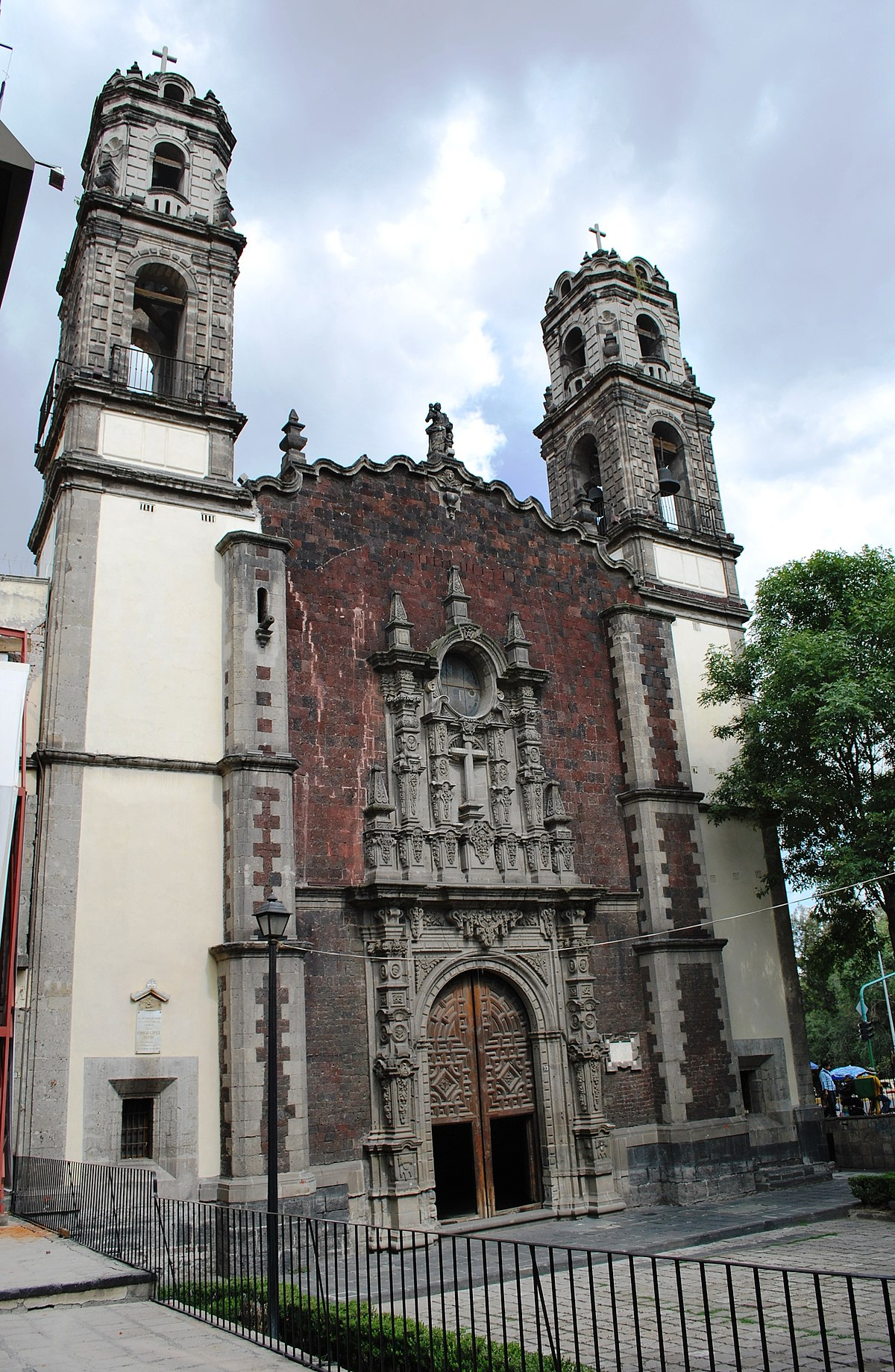 Santa Veracruz Church Mexico City