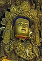 Face detail, Shakyamuni statue in Drepung Monastery, Tibet on 18 May 2011 (cropped).JPG