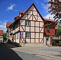 Fachwerkhaus in Altstadt Qudlinburg. IMG 1038WI.jpg