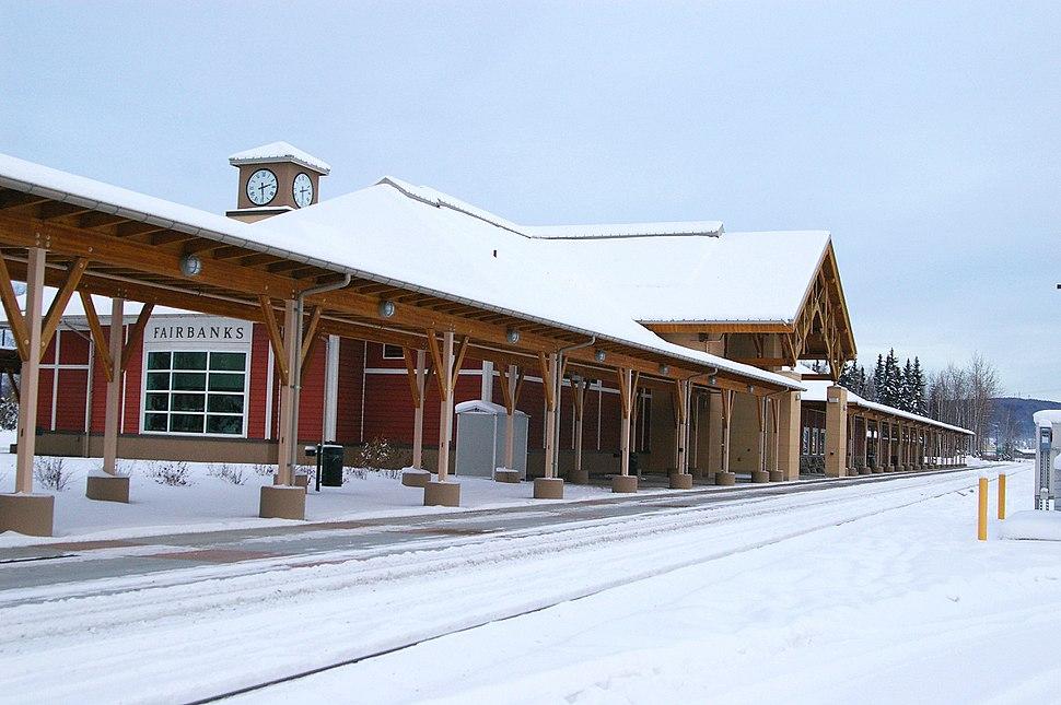 Fairbanks AK train station
