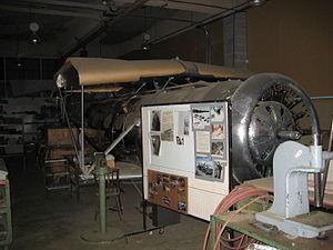 Fairchild Super 71 - Fairchild Super 71 under restoration