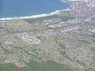Suburb of Wollongong, New South Wales, Australia