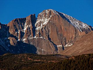 Longs Peak mountain