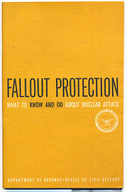 United States Civil Defense booklet,Fallout Protection commissioned by McNamara.