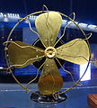 Fan with Tesla induction motor, 1892-1896 - Museum of Science and Industry (Chicago) - DSC06561.JPG