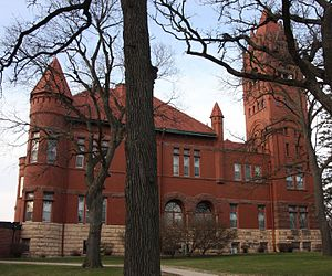 Faribault County, Minnesota - Image: Faribault County Courthouse MN