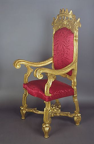 Brit milah - Chair of Elijah used during the brit milah ceremony - Musée d'Art et d'Histoire du Judaïsme