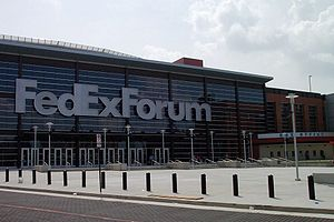Das FedExForum in Memphis