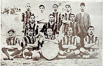 1913–14 Istanbul Football League - Istanbul Sunday League -Fenerbahçe SK 1913-14 Champion