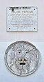 Ferenc Faludi plaque 02, Güssing.jpg