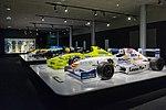 Fernando Alonso 1999-2004 cars 2017 Museo Fernando Alonso.jpg