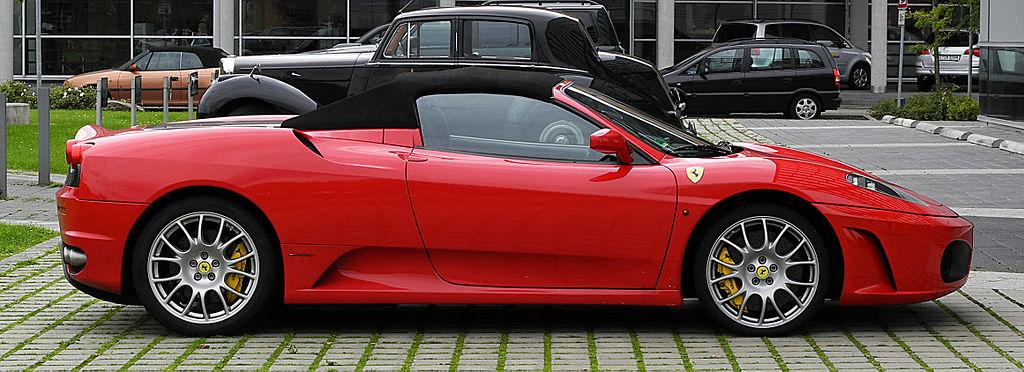 Puma Ferrari Replica Key Ring Carabiner