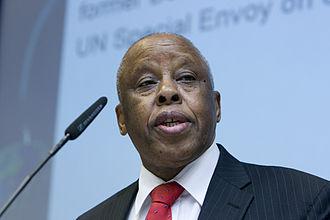 Vice-President of Botswana - Image: Festus Mogae