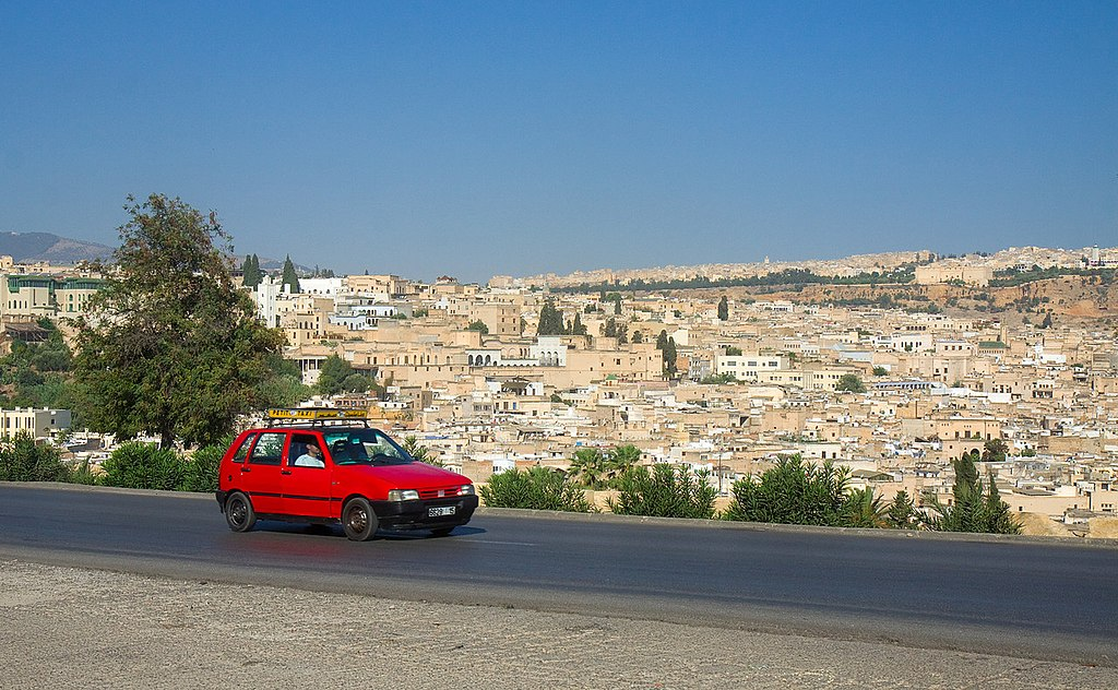 Fez, Morocco taxi