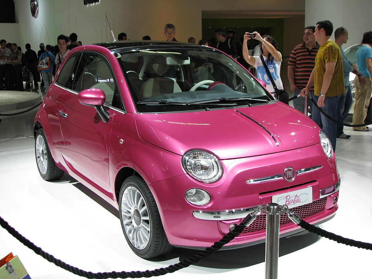fiat 500 barbie wikipedia la enciclopedia libre. Black Bedroom Furniture Sets. Home Design Ideas