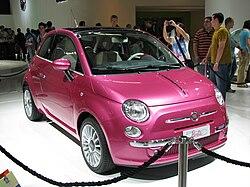 Fiat 500 Barbie - Wikipedia, la enciclopedia libre