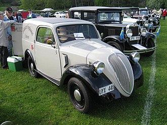 """Fiat 500 """"Topolino"""" - Image: Fiat Topolino 500B (5365551740)"""