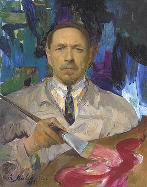 Filipp Malyavin - Self-portrait, 1927.