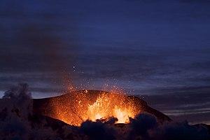 pic: Eyjafjallajökull eruption