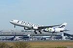 Finnair, Airbus A330-300 OH-LTO 'Marimekko Unikko' NRT (22659093683).jpg