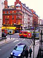 Fire Engines on Hallam Street Marylebone W1.JPG