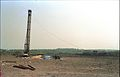 First Piling - Convention Centre Complex Under Constrution - Science City Site - Calcutta 1994-01-29 419.JPG