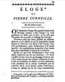 First page of Corneille's Eulogy by Bailly.png