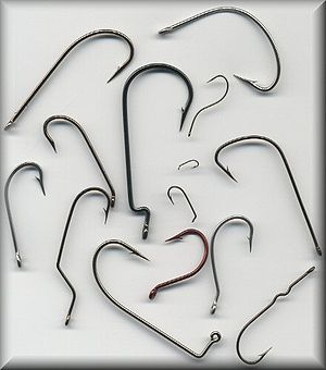 Fish hook - A Variety of fish hooks
