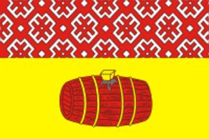 Velsk - Image: Flag of Velsk (Arkhangelsk oblast)
