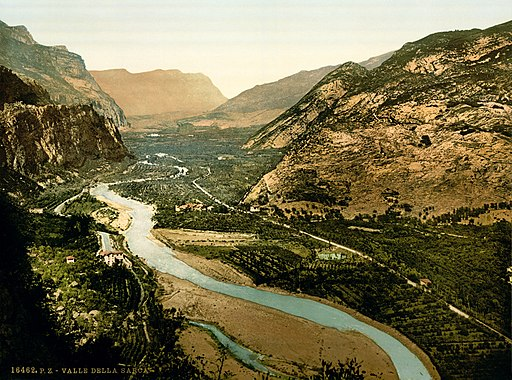 Flickr - …trialsanderrors - Valley of the Sarca, Trentino, Italy, ca. 1900