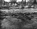 Flooding of the Touchet River where it meets US 410, Waitsburg, Washington, December 23, 1964 (WASTATE 3656).jpeg