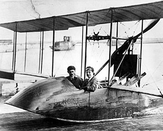 Tony Jannus - Tony Jannus piloting the Benoist flying boat