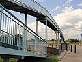 Footbridge over the A30 Road at Ashford - panoramio.jpg