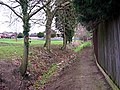 Footpath from Bourne Woods - geograph.org.uk - 528256.jpg