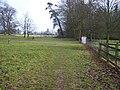 Footpath junction in Linton Park - geograph.org.uk - 1131284.jpg