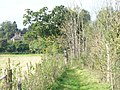 Footpath to West Clandon Church - geograph.org.uk - 992288.jpg