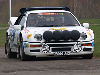 Ford RS200 - RS200 at the Race Retro 2008