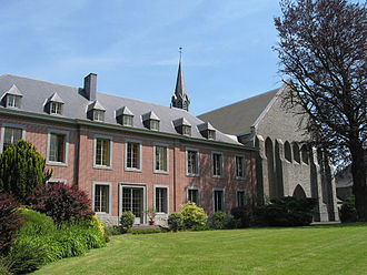 Chimay Brewery - Scourmont Abbey in Chimay, Belgium
