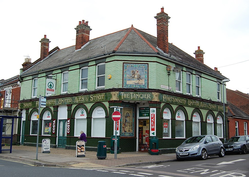 Former Tangier pub, Tangier Road, Copnor, Portsmouth (October 2017)