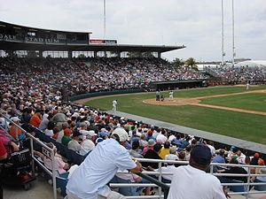 Fort Lauderdale Stadium - Inside Fort Lauderdale Stadium.