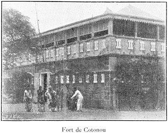 Cotonou - Fort of Cotonou, in 1900.