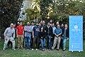 Foto grupal Asamblea general ordinaria de socios de Wikimedia Chile 2018.jpg